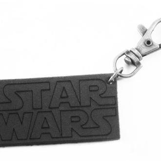 Кожаный брелок Star Wars от мастерской Wild