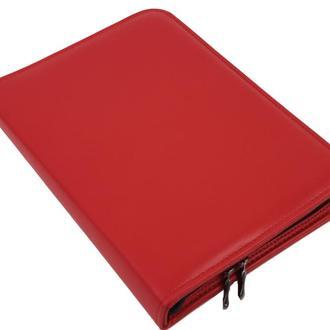Женская папка для документов А5 из эко кожи Portfolio Port1011 красная