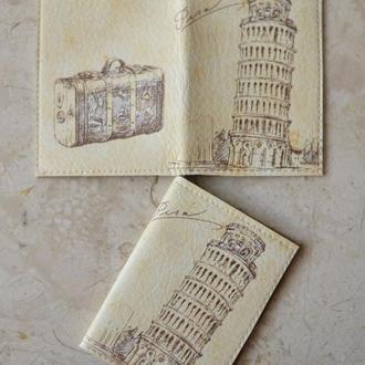 Обложка на ID паспорт нового образца и автодокументы