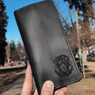 Іменний гаманець довгий Type #5 (для чоловіків та жінок) - гравірування будь-якого фото