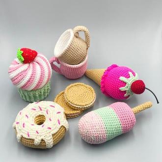 Набір іграшковою їжі (8 предметів)