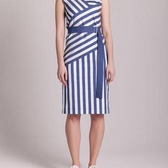 Платье из стрейч-коттона