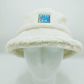 Панама nike зимняя (барашек teddy) молочный.56-57p.