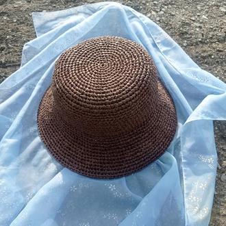 шляпа з рафії