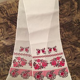 Вишитий рушник на весілля