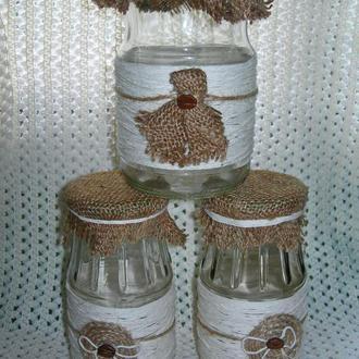 Баночки для кухонного декора