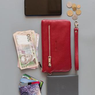 """wallet """"Kerry"""" red (артикул: WL008.3)"""