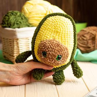 Плюшевая игрушка авокадо