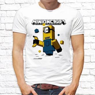 Мужская футболка Push IT с принтом Миньоны (Minions) ФП001361