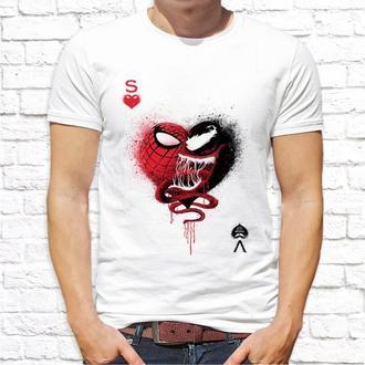 Мужская футболка Push IT с принтом Человек-паук (Spider-Man) ФП001372