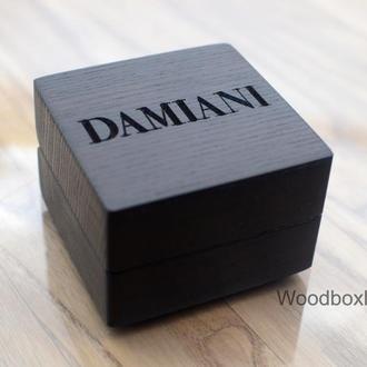 Ювелірні дерев'яні коробочки, футляри для ювелірних виробів
