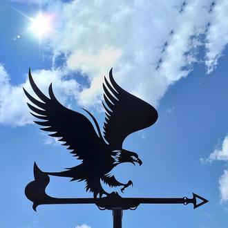 "Флюгер на крышу дома ""Арел, Орел, Птица"" с металла 2 мм"