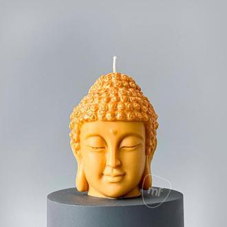 Силиконовая форма Голова Будды