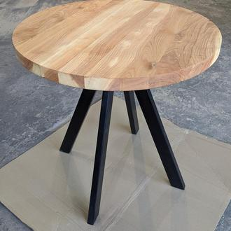 Стол обеденный, стол кухонный, круглый стол, стол лофт