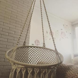Кресло гамак , садовое кресло , подвесное кресло, макраме