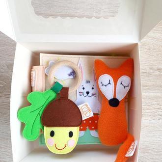 Подарункова коробочка для новонароджених
