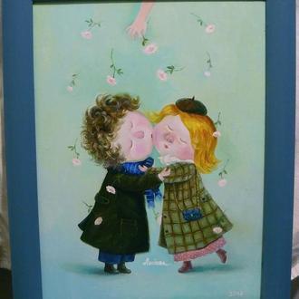 """Картина """"Любовь""""."""