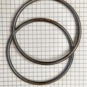 Комплект металлических колец  для сумки