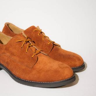 """Обувь ручной работы. Модель """"Дерби"""""""