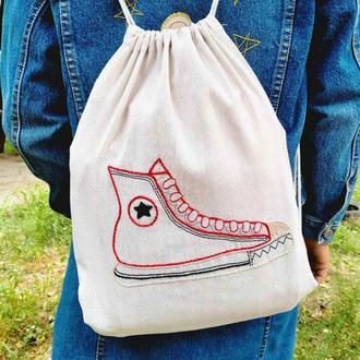 Рюкзак-мешок на веревках