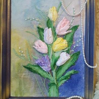 """Картина """" тюльпаны"""""""