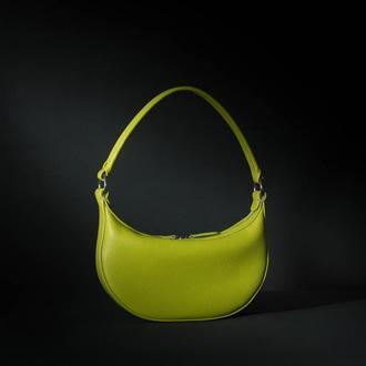 """Selena"" bag lime (артикул: w065.3)"