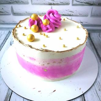 Торт ванильно фруктовый