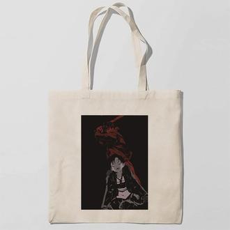 Эко-сумка, шоппер с принтом повседневная Stalker-Сталкер