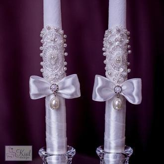 Справжні королівські свічки на вашу церемонію вінчання.
