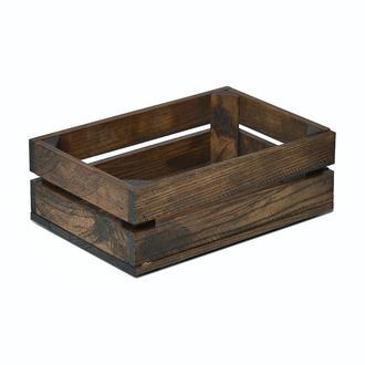 Темний дерев'яний ящик Naturwood ( 30х20х11 см)