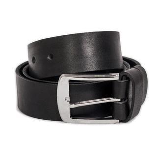 Ремень мужской кожаный B-01 (черный)