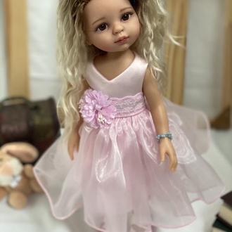 Красивое платьев для куклы Паола Рейна 32 см, Одежда для кукол Paola Reina