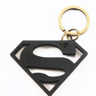 Брелок с емблемой  Superman от мастерской Wild