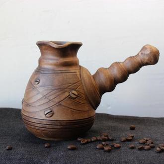 Турка ручной работы для заваривания кофе