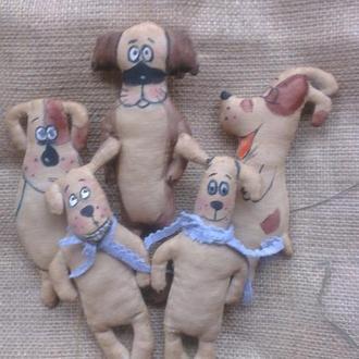 Кофейные собачки, год Собаки
