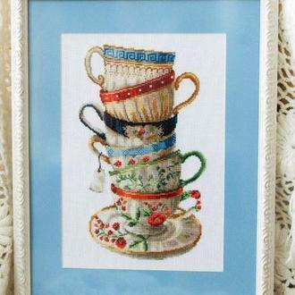 Набор для вышивания DOME 100108 Кофейные чашки
