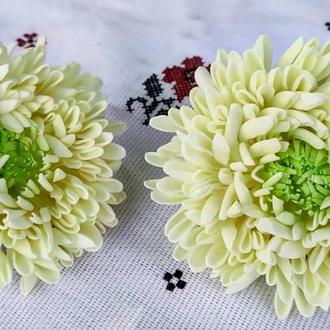 Хризантемы на резинках