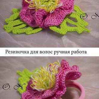 резинка для волос ручной работы