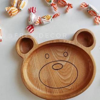 Тарелка Медвежонок