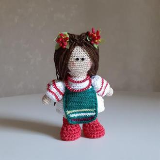 Інтер'єрна лялька Україночка