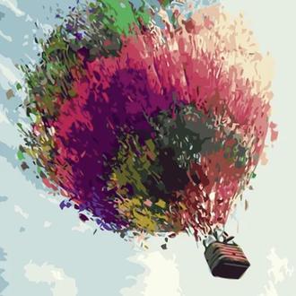 "Картина по номерам ""Воздушный шар"" 40х50"