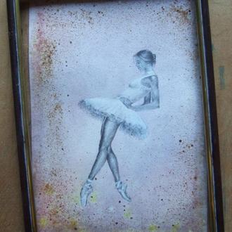 Балет, балет, балет... Рисунок 2021г Автор - Мишарева Наталья