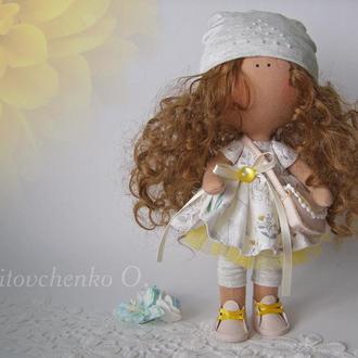 Выкройка интерьерной куклы