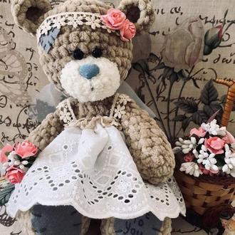 Плюшевая мишка Тедди невеста
