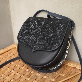 сумка Петриківка -чорна