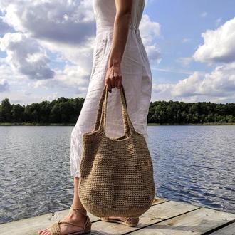 Сумка шоппер Сумка для продуктов Вязаная эко сумка