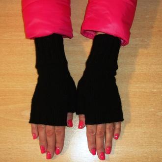 Митенки - перчатки без пальцев универсальные