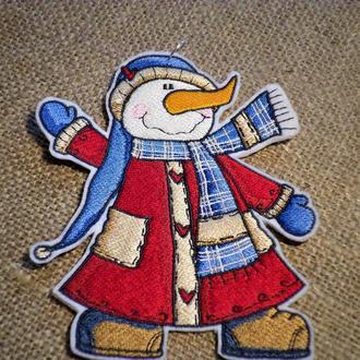 Снеговики-модники
