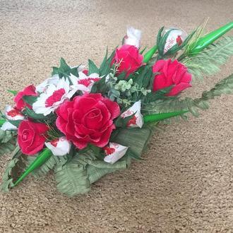 """Букет """" Герберы и розы"""""""