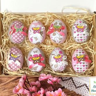 """Набор """"Пасхальные яйца"""" №2 - 8шт в коробке"""